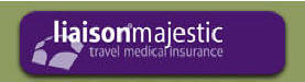 Liaison Majestic travel medical insurance